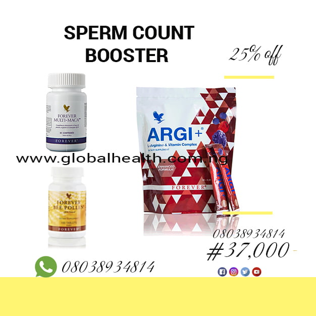 FOREVER SPERM COUNT BOOSTER